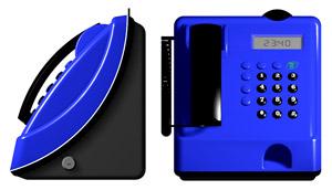2d projection teletup mensajes blue