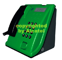 3d solid teletup mensajes green