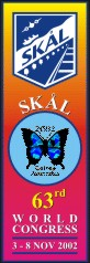 Banner skal 63rd world congress