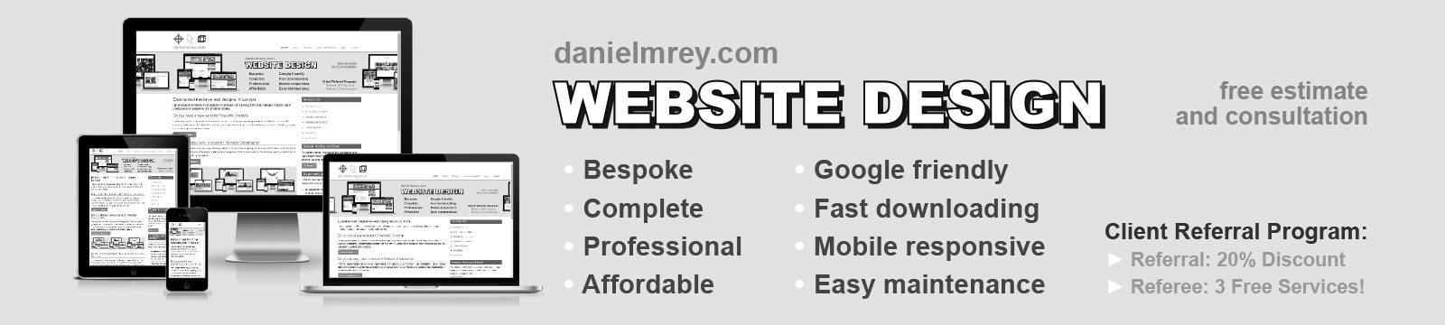 Danielmrey banner website design banner grey 1600