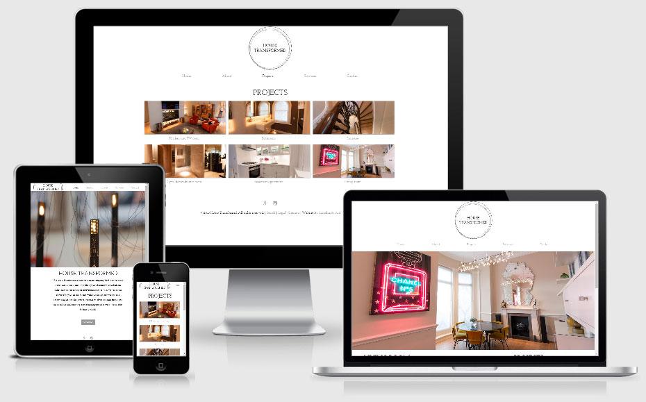 Desktop mobile house transformed