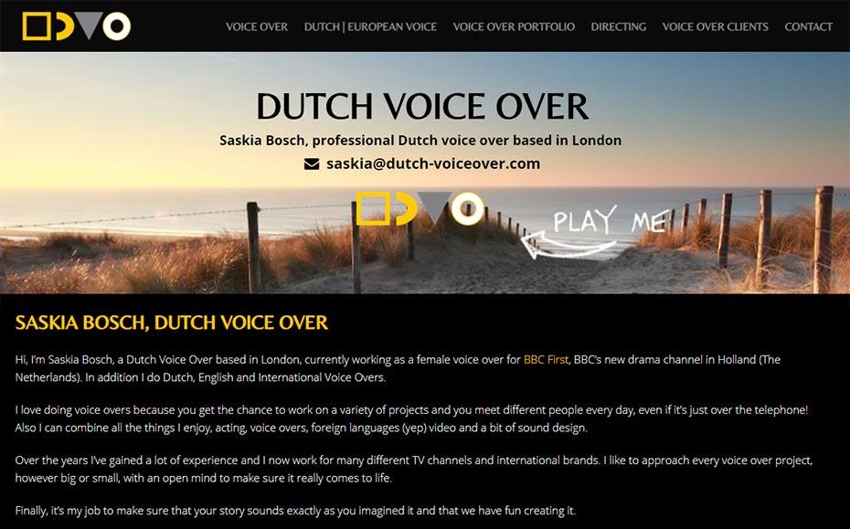 Dutch voiceover