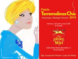 Flyer torremolinos chic invitacion 2018