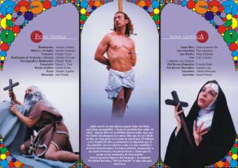 Flyer triptych divino patron