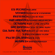 Music cover technoma back