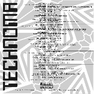Music cover technoma sleeve