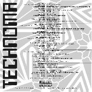 Music cover technoma sleeve