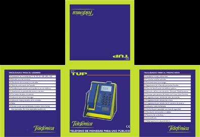 Packaging design teletup