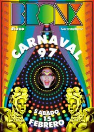 Poster bronx carnaval 1997
