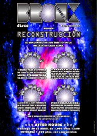 Poster bronx reconstruccion