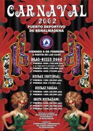 Poster carnaval benalmadena 2002