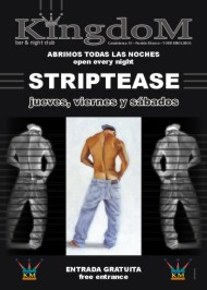 Poster kingdom striptease