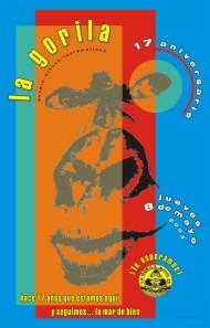Poster la gorila aniversario 17