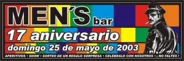 Poster mens aniversario 17