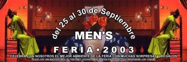 Poster mens feria 2003