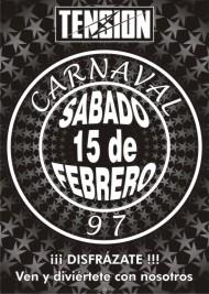 Poster tension carnaval 1997