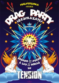 Poster tension drag party