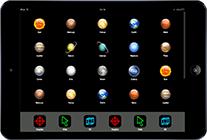 Web app ipad template ipad